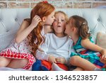 childhood  leisure and family... | Shutterstock . vector #1346523857