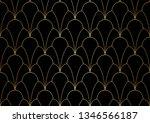 classic art deco seamless...   Shutterstock .eps vector #1346566187