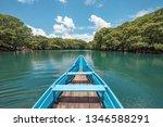 Boat At The Camecuaro Lake...