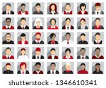 business people icons | Shutterstock .eps vector #1346610341