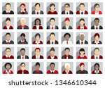 business people icons | Shutterstock .eps vector #1346610344