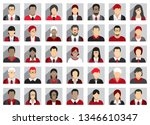 business people icons | Shutterstock .eps vector #1346610347