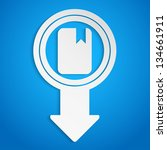 creative arrow icon  eps10... | Shutterstock .eps vector #134661911