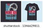 perfect summer. stylish... | Shutterstock .eps vector #1346629811
