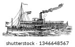 Steam Boat Is A Boat That Is...