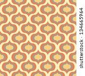 seamless vector art geometric... | Shutterstock .eps vector #134665964