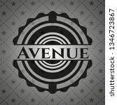 avenue dark badge   Shutterstock .eps vector #1346723867
