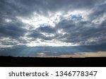 scenic shot of cloudy sky over... | Shutterstock . vector #1346778347
