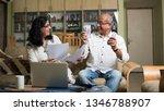 senior indian asian couple... | Shutterstock . vector #1346788907