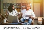 senior indian asian couple... | Shutterstock . vector #1346788934