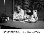 senior indian asian couple... | Shutterstock . vector #1346788937