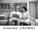 senior indian asian couple... | Shutterstock . vector #1346788961