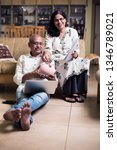 senior indian asian couple... | Shutterstock . vector #1346789021