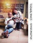 senior indian asian couple... | Shutterstock . vector #1346789051