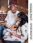 senior indian asian couple... | Shutterstock . vector #1346789054
