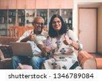 senior indian asian couple... | Shutterstock . vector #1346789084