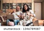 senior indian asian couple... | Shutterstock . vector #1346789087