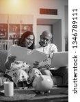 senior indian asian couple... | Shutterstock . vector #1346789111