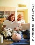 senior indian asian couple... | Shutterstock . vector #1346789114