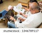 senior indian asian couple... | Shutterstock . vector #1346789117