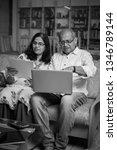 senior indian asian couple... | Shutterstock . vector #1346789144