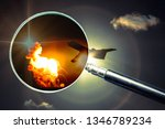 investigation of the causes of...   Shutterstock . vector #1346789234