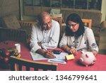 senior indian asian couple... | Shutterstock . vector #1346799641