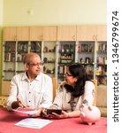 senior indian asian couple... | Shutterstock . vector #1346799674
