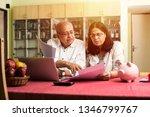senior indian asian couple... | Shutterstock . vector #1346799767
