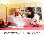 senior indian asian couple... | Shutterstock . vector #1346799794