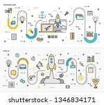 here is a collection of graphic ... | Shutterstock .eps vector #1346834171