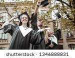 so cute. delighted leavers... | Shutterstock . vector #1346888831