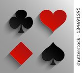 Set Of Casino Elements  ...