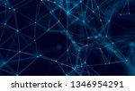 big data visualization.... | Shutterstock . vector #1346954291
