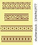 primitive seamless pattern | Shutterstock .eps vector #1346961977