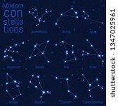 vector set of modern... | Shutterstock .eps vector #1347025961