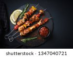 Shish Kebab With Mushrooms ...