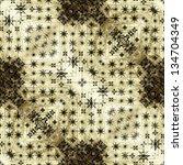 art vintage geometric... | Shutterstock . vector #134704349