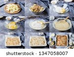 recipe step by step. homemade... | Shutterstock . vector #1347058007