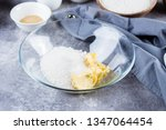 recipe step by step. homemade... | Shutterstock . vector #1347064454