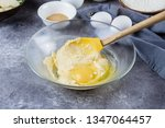 recipe step by step. homemade... | Shutterstock . vector #1347064457