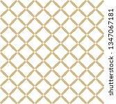 golden grid texture. vector... | Shutterstock .eps vector #1347067181