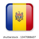 moldova flag bright square icon.... | Shutterstock .eps vector #1347088607