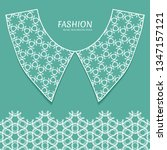 vector fashion background.... | Shutterstock .eps vector #1347157121