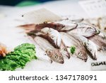 fresh fish at a fishmonger | Shutterstock . vector #1347178091