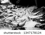 fresh fish at a fishmonger | Shutterstock . vector #1347178124