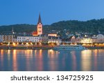 Small photo of the famous Village of Boppard at River Rhine,Germany