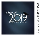 vector text for graduation... | Shutterstock .eps vector #1347265547