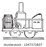 cooper locomotive was the first ... | Shutterstock .eps vector #1347272837