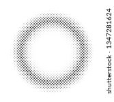 abstract halftone background... | Shutterstock . vector #1347281624